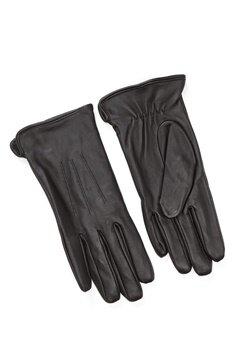 Pieces Nellie Leather Glove Black Bubbleroom.eu