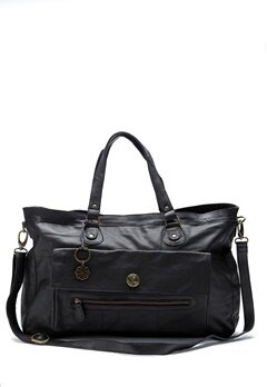 Pieces Totally Royal Travel Bag Black Bubbleroom.eu