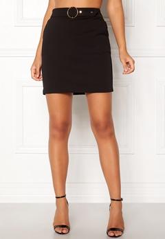 Pieces Vicca Skirt Black Bubbleroom.eu