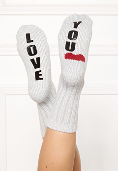 PJ. Salvage Fun Socks Heather Grey Bubbleroom.eu