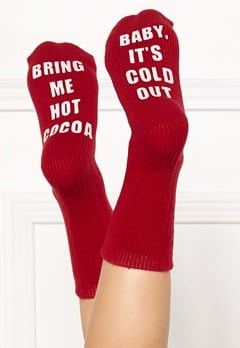 PJ. Salvage Fun Socks Red Bubbleroom.eu