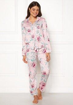 PJ. Salvage PJ Pyjama Set Pale Pink Bubbleroom.eu