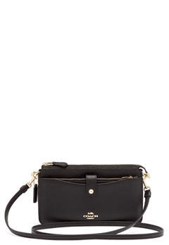 COACH Polished Pebble Bag Black Bubbleroom.eu