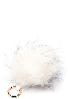 ROCKANDBLUE Pom Pom Charm Faux Fur 8010 Bleached/Gold Bubbleroom.eu