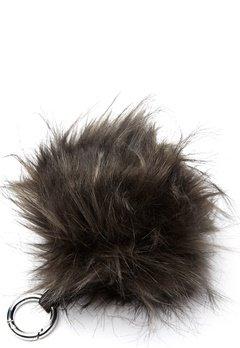 ROCKANDBLUE Pom Pom Charm Faux Fur 8370 Greyish/Silver Bubbleroom.eu