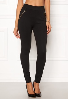 New Look Ponte Zip Leggings 1 Bubbleroom.eu