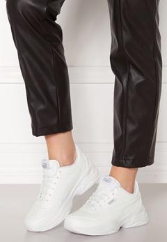 PUMA Cilia Mode Sneakers 02 White Silver Bubbleroom.eu