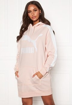 PUMA Classic T7 Hooded Dress Pink Bubbleroom.eu