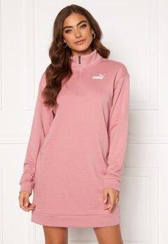 PUMA Ess + Half Zip Dress 016 Pink Bubbleroom.eu