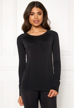 PUMA Evoknit Seamless LS Top 001 Black Bubbleroom.eu