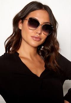 Quay Australia Dusk To Dawn Sunglasses Gold/Smoke Lens Bubbleroom.eu