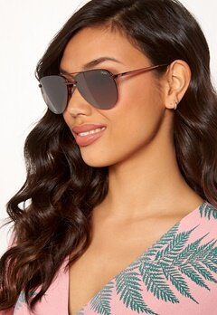 Quay Australia The Playa Sunglasses Bronze/Brown Flash Bubbleroom.eu