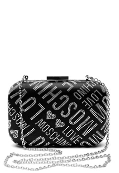 Love Moschino Quilted Small Bag Silver Bubbleroom.eu