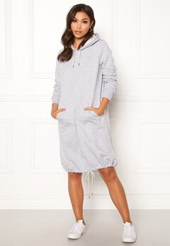 Röhnisch Comfy Dress 0006 Grey Melange Bubbleroom.eu