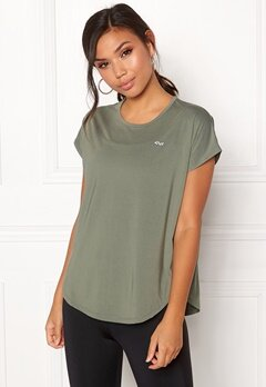 Röhnisch Leo Loose Top Combat Green Bubbleroom.eu