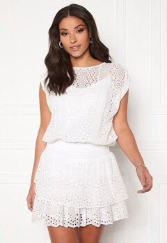 Ravn Bee Dress White Bubbleroom.eu