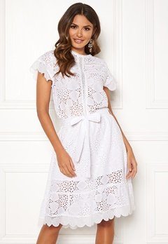 Ravn Sonny Dress White Bubbleroom.eu