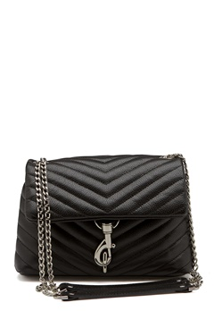 Rebecca Minkoff Edie Crossbody Pebble Bag Black Bubbleroom.eu