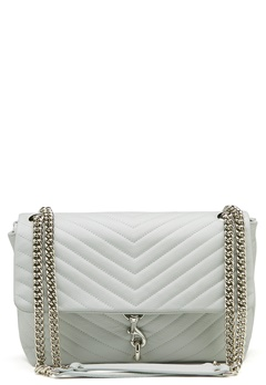 Rebecca Minkoff Edie Flap Shoulder Bag Ice Blue Bubbleroom.eu
