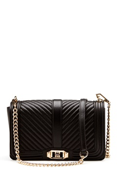Rebecca Minkoff Love Crossbody Pebble Bag Black Bubbleroom.eu