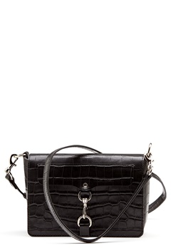 Rebecca Minkoff Map Flap Crossbody Bag Black Bubbleroom.eu