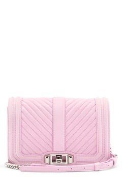Rebecca Minkoff Small Love Crossbody Light Orchid Bubbleroom.eu