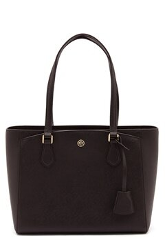 TORY BURCH Robinson Small Tote Black Bubbleroom.eu