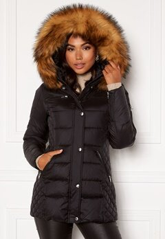 ROCKANDBLUE Beam Mid Jacket 89915 Black/Natural Bubbleroom.eu