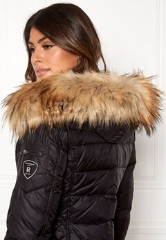 ROCKANDBLUE Faux Fur Trim Black/Natural Bubbleroom.eu