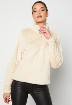 Rut & Circle Alex Fur Sweater Sand Bubbleroom.eu