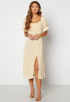Rut & Circle Camille Dress 701 Yellow Flower Bubbleroom.eu