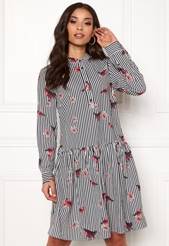 Rut & Circle Flower Stripe Dress Stripe Bubbleroom.eu