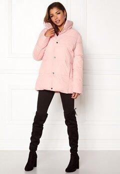 Rut & Circle Hilma Padded Jacket Lt Pink Bubbleroom.eu