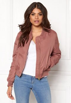 Rut & Circle Kate Bomber Jacket Canyon Pink Bubbleroom.eu