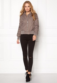 Rut & Circle Kate Bomber Jacket Lt Taupe Bubbleroom.eu