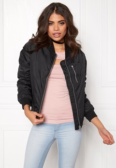 Rut & Circle Kate Front Zip Jacket Black Bubbleroom.eu