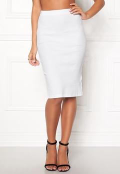 Rut & Circle Lilja Skirt White Bubbleroom.eu
