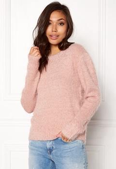 Rut & Circle Lisa Fluffy Knit Dusty Pink Bubbleroom.eu
