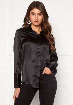 Rut & Circle Lucy Shirt Black Bubbleroom.eu