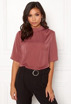 Rut & Circle Maria SS Blouse Old Rose Bubbleroom.eu