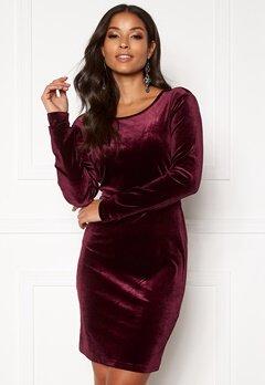 Rut & Circle Melanie Dress Wine Red Bubbleroom.eu