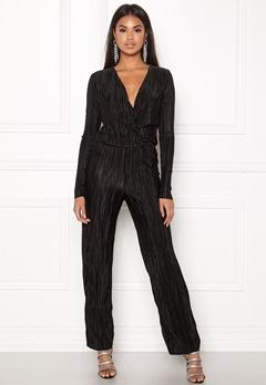 Rut & Circle Pleated Jumpsuit Black Bubbleroom.eu