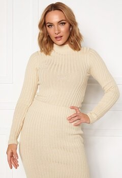 Rut & Circle Sabina Knit Top Light Beige Bubbleroom.eu