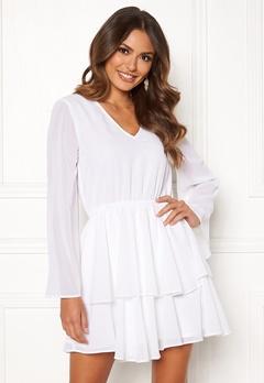 Rut & Circle Tuva Dress White Bubbleroom.eu