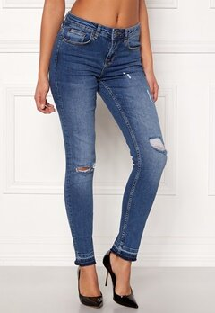 Rut & Circle Victoria Destroyed Jeans Dark Wash Bubbleroom.eu