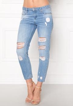 Rut & Circle Victoria Girlfriend Jeans LT Wash Bubbleroom.eu