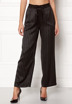 Samsøe & Samsøe Bette Pants Black Pinstripe Bubbleroom.eu