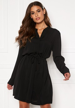 Samsøe & Samsøe Monique Shirt Dress Black Bubbleroom.eu
