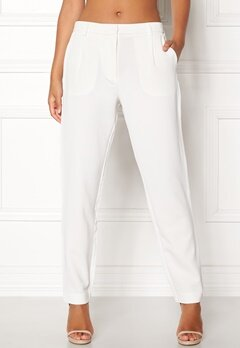 Samsøe & Samsøe Stamford Pants Clear Cream Bubbleroom.eu