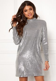 Samsøe & Samsøe Theta Tn Dress Silver Bubbleroom.eu
